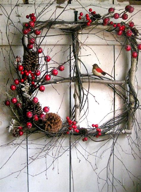 comfy rustic outdoor christmas decor ideas digsdigs