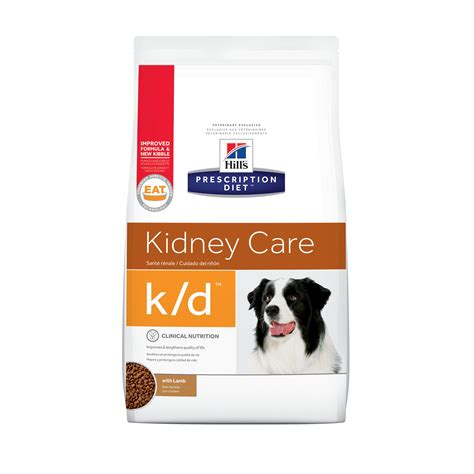 hills prescription diet kd kidney care  lamb dry dog