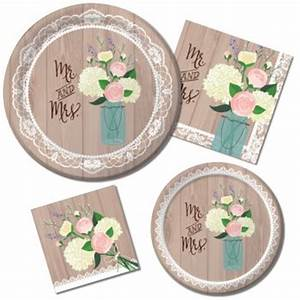 Rustic Wedding Party At Lewis Elegant Party Supplies