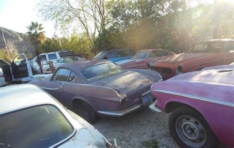 lot  volvo p cars  sale los angeles california