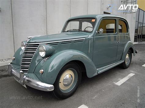 1950 Fiat 1100 - Information and photos - MOMENTcar
