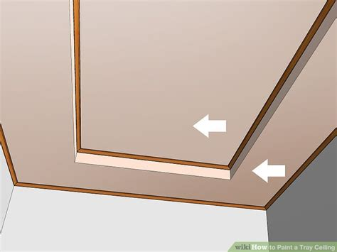 How To Paint A Tray Ceiling how to paint a tray ceiling 14 steps with pictures