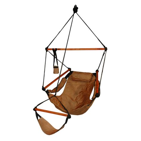 hammaka 174 hanging air chair with wooden dowel 199096
