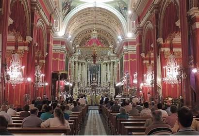 Malta Zebbug Churches Church Catholic St Inside