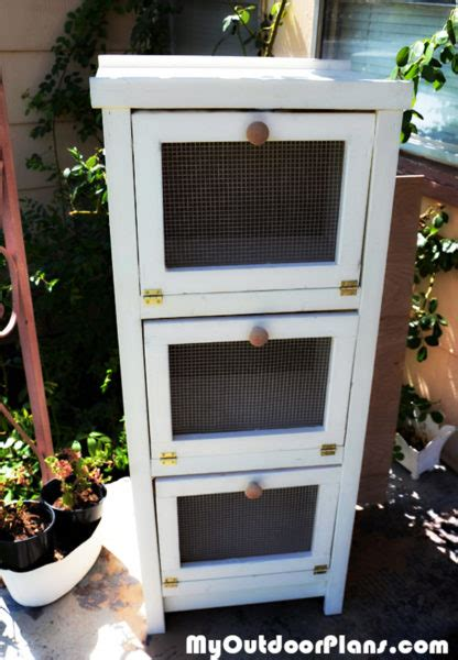 diy potato bin myoutdoorplans  woodworking plans