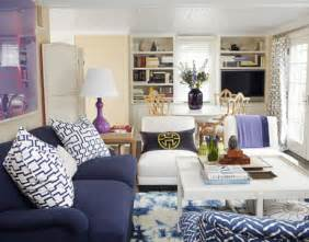 How To Decorate Long Narrow Living Room by Navy Blue Sofa Design Ideas