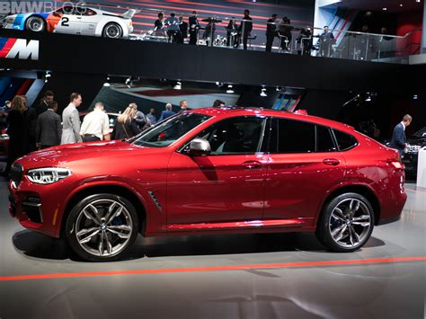 New York Auto Show 2018 by 2018 Nyias The New Bmw X4 Makes American Debut