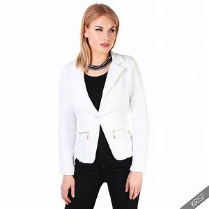 Womens Floral Quilted Fashion Blazer Slim Fit Jacket Coat ...
