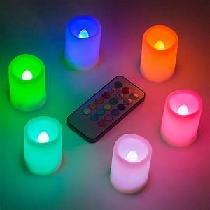 Led Kerzen Mit Timerfunktion : 6er set led kunststoff kerzen mit timer fernbedienung farbwechsel timerfunktion ebay ~ Whattoseeinmadrid.com Haus und Dekorationen