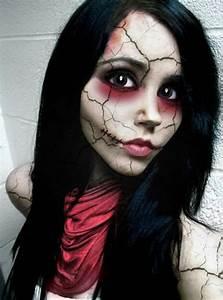 Halloween Make Up Puppe : coole halloween schmink ideen ~ Frokenaadalensverden.com Haus und Dekorationen
