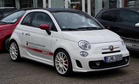 Fiat Abarth 500c by File Fiat 500c Abarth Esseesse Frontansicht 1 April
