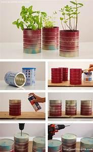 Pinterest Bricolage Jardin : macetas arom ticas con latas diy pots with cans jard n ~ Melissatoandfro.com Idées de Décoration