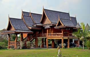 Traditional 2 Story House Plans Thai House Or Farang 1 Story Or 2 My Thai The Best Of In Beautiful