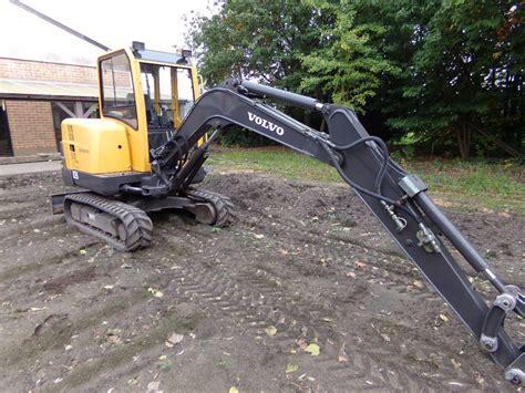 volvo  mini excavators