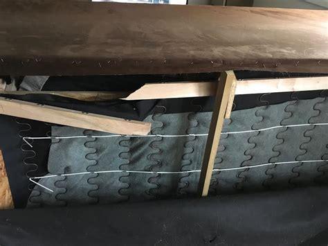 Repair Sofa Frame by Repaired Broken Frame On Furniturerepairman