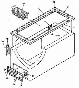 Cabinet Diagram  U0026 Parts List For Model 2539159110 Kenmore