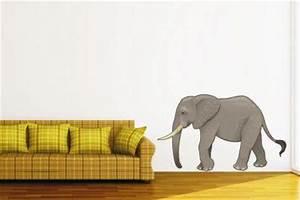 Wandtattoo Auf Rauputz : wandtattoo elefant color kaufen bei ~ Michelbontemps.com Haus und Dekorationen