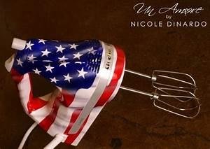 Flag Themed KitchenAid Mixer My Artwork Pinterest