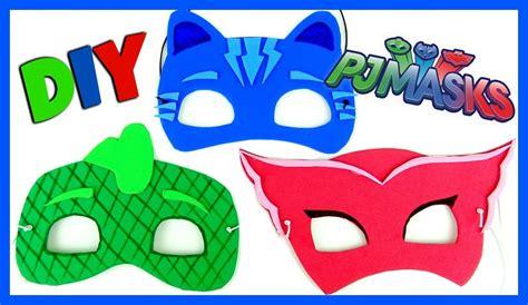 pj masks template pj masks disney mask diy easy as 1 2 3 catboy owlette gekko everything 4