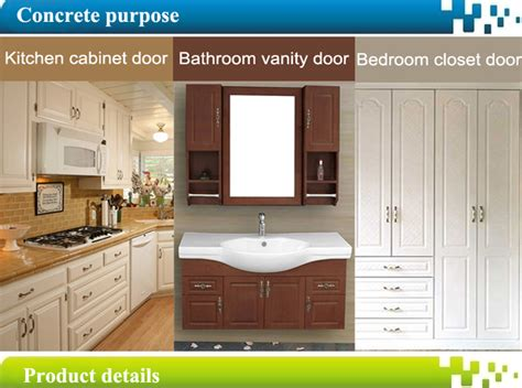 Foil Wrapped Cabinet Doors by Pvc Foil Wrapped Kitchen Mdf Cabinet Doors Buy Mdf