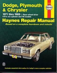Haynes Dodge Plymouth Chrysler Rear