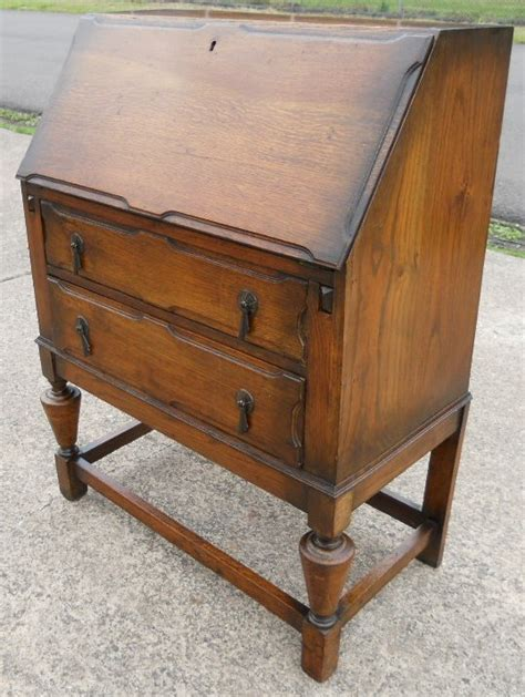 oak bureau desk oak writing bureau desk