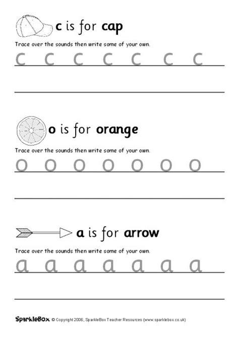 letter formation workbook sb sparklebox