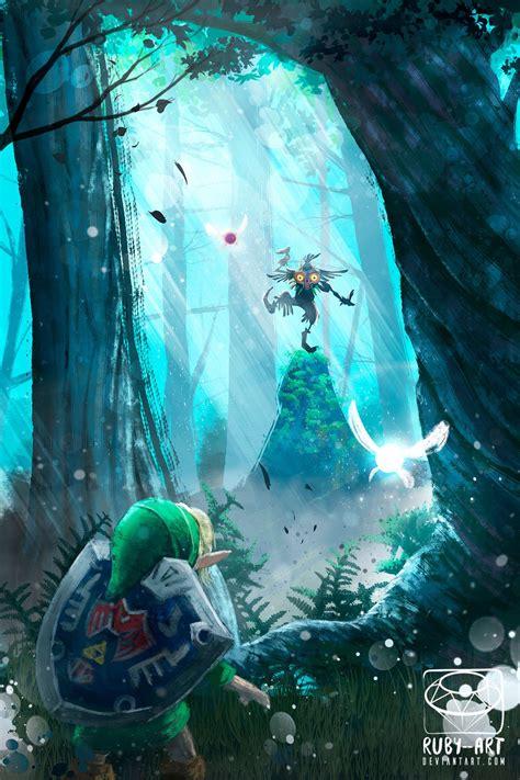 Majoras Mask Zelda Fanart By Ruby Art Legend Of Zelda