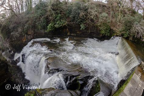 aberdulais tin works  waterfall  vincent