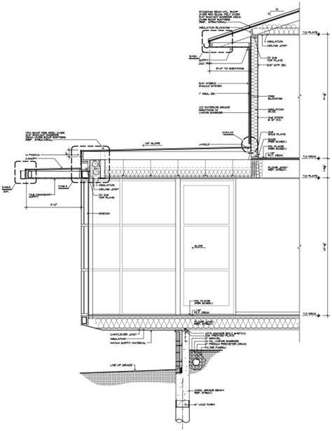 overhanging floor l uk cantilevered room section 01