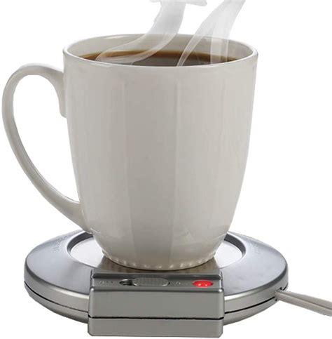 The most common coffee warmer plate material is metal. Beverage Warmer Mug - Heating Plate Keep Coffee & Tea ...