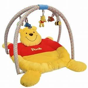 Tapis Winnie L Ourson : winnie l 39 ourson tapis de jeu avec arche jaune et rouge ~ Dailycaller-alerts.com Idées de Décoration