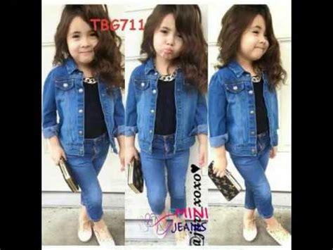 model terpopuler baju anak anak perempuan gaul modis dan modern youtube