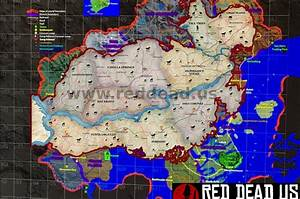 If The Leaked RDR2 Map Is Real We Will Be Getting A Map