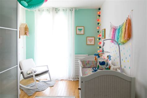 chambre vert d eau deco chambre bebe vert d eau visuel 5