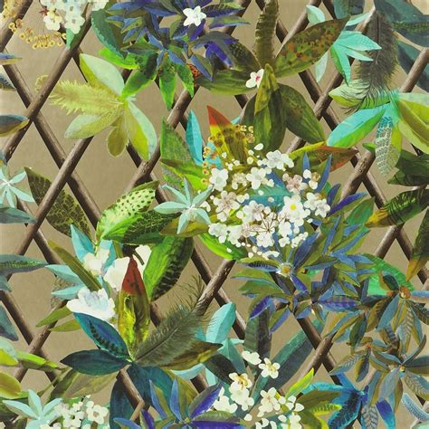 designers guild canopy wallpaper houseology