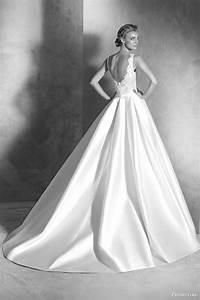 atelier pronovias 2016 haute couture wedding dresses With mikado silk wedding dress