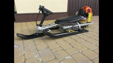 Snowmobile Engine In Mini Jet Boat by Snowmobile For Of Grass Cutter And Sled