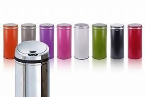 Poubelle Automatique Pas Cher : poubelle automatique color e pas ch re 39 90 au lieu ~ Dailycaller-alerts.com Idées de Décoration