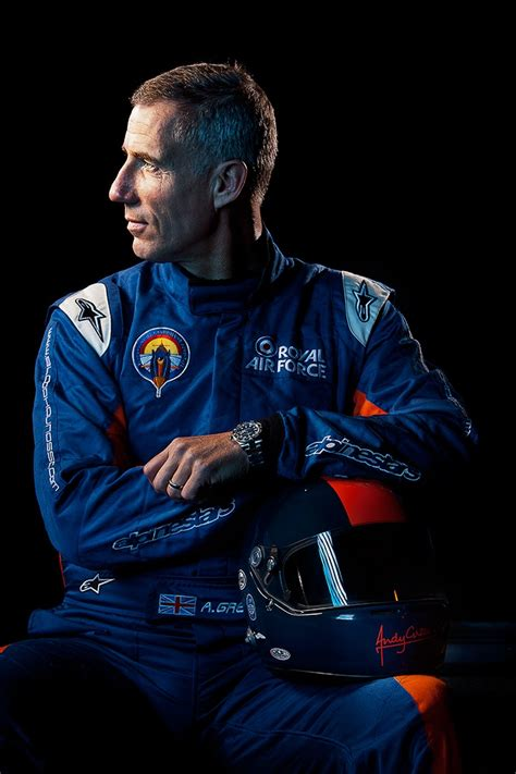 commander andy green pilot  bloodhound ssc project