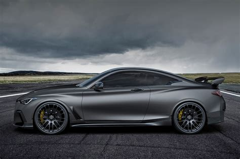 Q60 Project Black S Price by Infiniti Q60 Project Black S Concept Look F1 Road