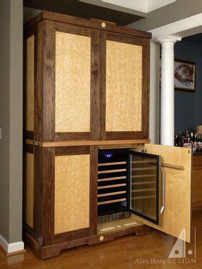 hand crafted custom walnut  birdseye maple liquor