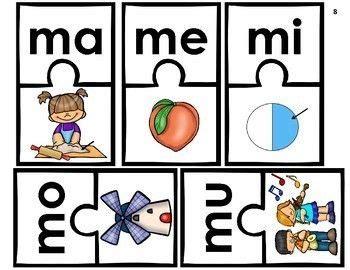 silabas con m ma me mi mo mu centros de aprendizaje escritura centros de aprendizaje