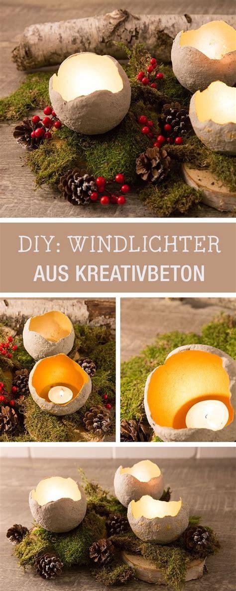 Beton Windlicht Selber Machen by Windlichter Aus Beton Selbermachen Candle Stands Made Of