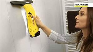 Pulire i vetri senza fatica? Con l'aspiragocce Kärcher si può