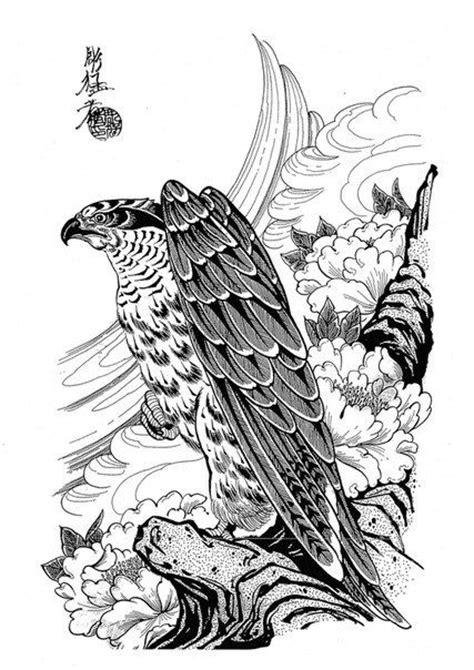 Horimouja - Google Search | Neo japanese tattoo | Japanese tattoo designs, Hawk tattoo, Japanese