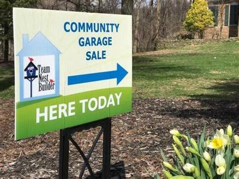 garage sales ta sparta mountain reserve residents sought for community