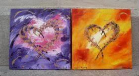 Positive Energie Bilder : knackig bunte acryl bilder mit positiver energie als geschenkidee von corinna kirchhof aus passau ~ Avissmed.com Haus und Dekorationen