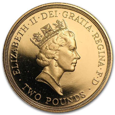 1986 Great Britain UK 3-Coin Gold Proof Set (w/Box & COA)