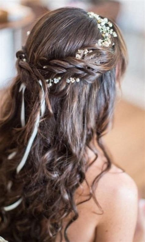 chignon mariage cheveux mi long